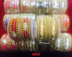 Beautiful Wedding Stone Bangles