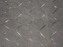 SS304 Silver SS Hexagonal Mesh, For Industrial