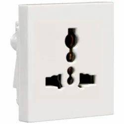 White Electrical Socket