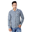 Casual Wear Cotton Regza Mens Designer Check Shirt