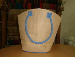 Dyed Handle Jute Bag