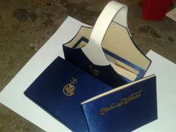 Floral Box Wedding Invitation In Velvet