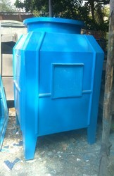 30 Tr Frp Induced Draft Water Cooling Tower Size 1200x1200x2400