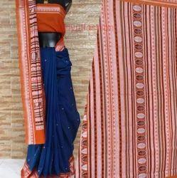 Handwoven dongria cotton saree