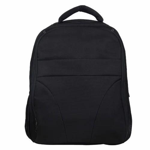 Black Laptop Backpack Bag