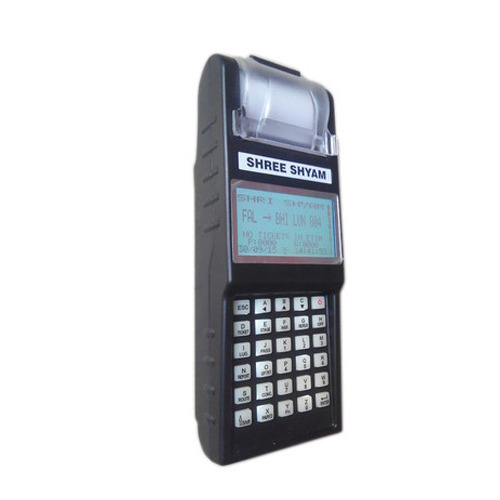 Shree Shyam Automatic Toll Tax Ticketing Machine, Warranty: 1 year, Features: Handheld