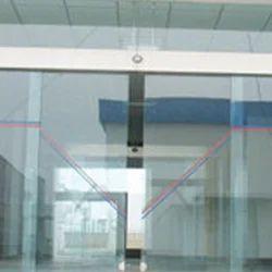 Electromechanical Unit slide type Automatic Sliding Door, For Commercial, Interior