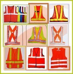 Nylon Large And XL Normal Size Saftey Jacket 1.75 Inch Tape, Traffic Control And Auto Racing