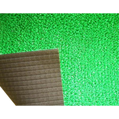 Rubber Printed Artificial Green Grass Floor Mat Rs 41 Square Feet Id 13401900497