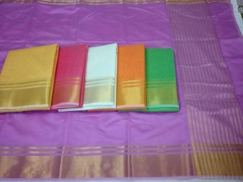 6.3 M (with Blouse Piece) Chanderi Fancy Saree
