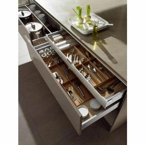 Kitchen Gallery Surat Gujarat: Stainless Steel Kitchen Drawer At Rs 400 /piece