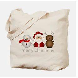 Canvas Christmas Bags
