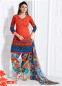 Printed Patiala Dress Material