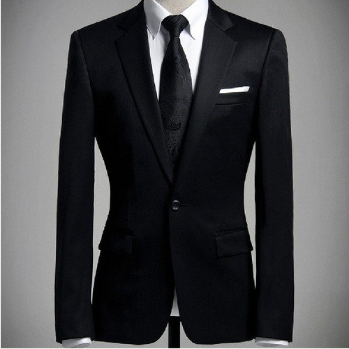 595f8ee7d53 Regular Fit Cotton Men' s Formal Blazer
