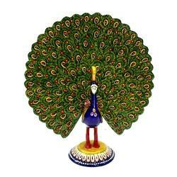 Meenakari Work Peacock Dancing MT049