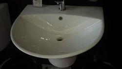 Hindware Kylis Wash Basin Half Pedastal Starwhite