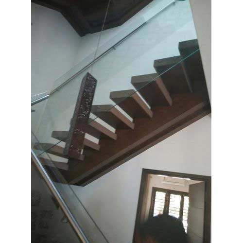 Panel Glass Stair Railing