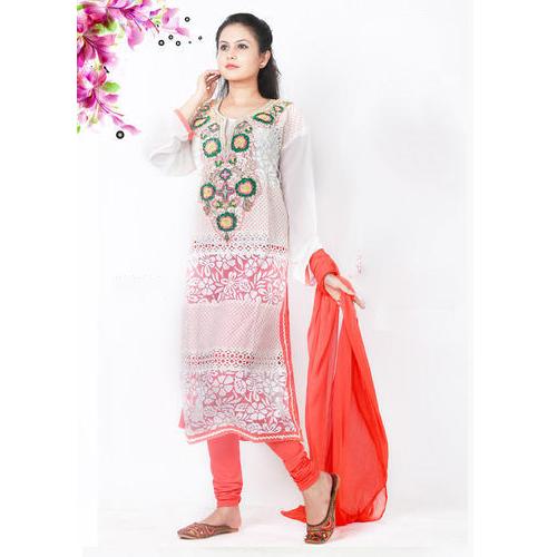6a9a77f69e Cotton Semi-Stitched Handwork Pakistani Long Suit, Rs 850 /piece ...