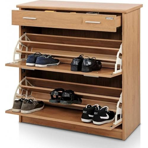 Wooden Designer Shoe Rack