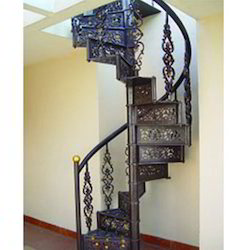 Spiral Staircase Wooden Ms Spiral Manufacturer From Chennai