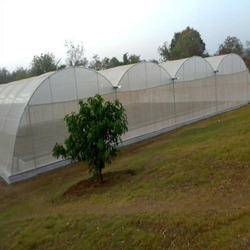 HDPE Agro White Shade Net, Length: 50 meter