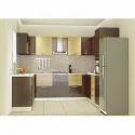 Wooden U Shape Laminate Modular Kitchen, Warranty: 10-15 Years