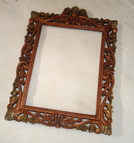 Antique Wooden Picture Frame at Rs 500 /piece | Antique Photo Frames ...