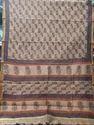 Batik Printed Chanderi Silk Saree