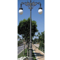 Decorative Star Light Pole