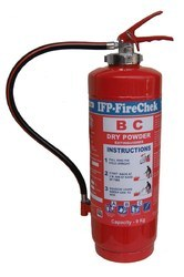IFP FIRECHEK Blue Dry Chemical Powder Extinguisher 9Kg Cartridge Type
