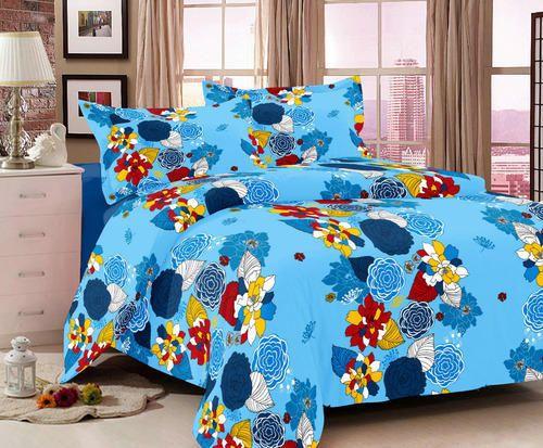 Vibrant King Size Cotton Bedsheets
