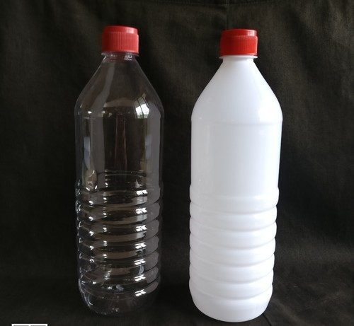 1 Ltr Plastic Bottle, Capacity: 1 Liter