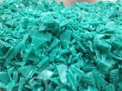 HDPE Cap Grinding Green Colour, For Recycling Plastic Industry, Packaging Type: Box