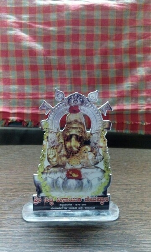 Acrylic Ganpati Showpiece