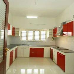 Modular Kitchen Multi Wood