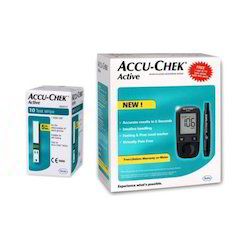 Accu Chek Active Glucometer With 10 Free Strips