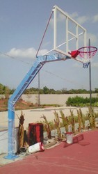 Mild Steel Basketball Pole