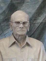 Human Half Bust Statue
