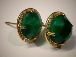 Emerald Earring Stud