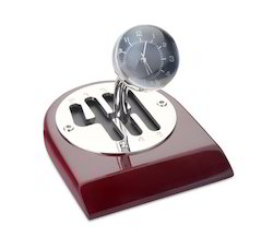 Desk Clock - Gear Shaped