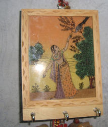 Wooden Key Stand