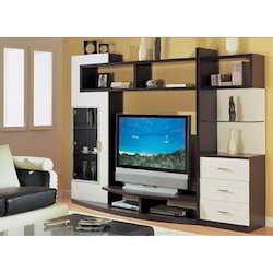 Wooden TV Wall Unit