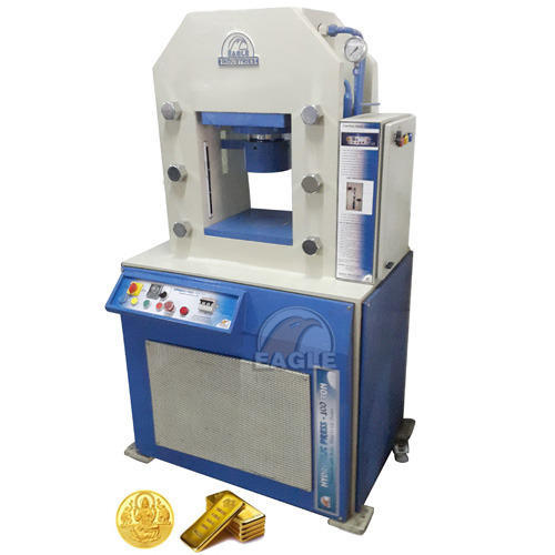 Hydraulic Gold Bar coin Making Minting Machine Gold Coin Machine