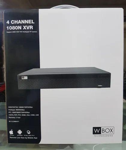 W Box (honeywell) Hd, Analog Dvr / 3year Warranty