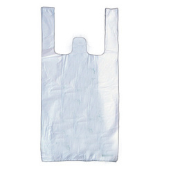 Plactic Plastic Carry Bags 52 Micron Bag Size Above Then 10 X 13 Inch