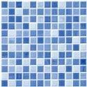 Bell Bdm Mosaic Blue Hsk Floor Tile