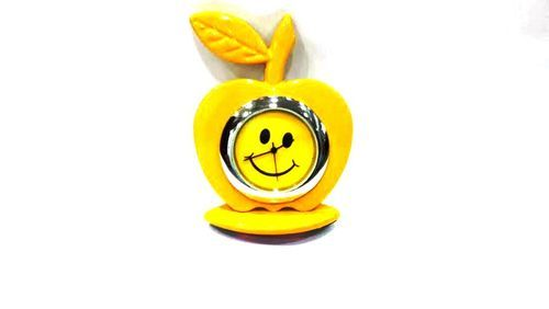 Le Table Clock Smiley Yellow