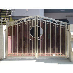 Designer Stainless Steel Main Gates