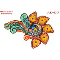 Colourful Akhand Diya