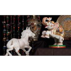 Horse and Elephant Stone Handicraft
